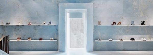 a71c2fa60488 Небесно-голубой бутик Céline в Майами | Все о строительстве, дизайне ...